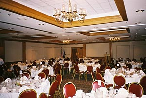 The perfect setting for Wedding Receptions and formal catered events!